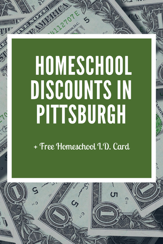 homeschool, Pittsburgh, homeschool discounts