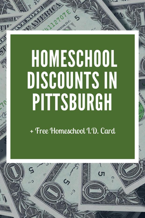 homeschool, Pittsburgh, homeschool discounts