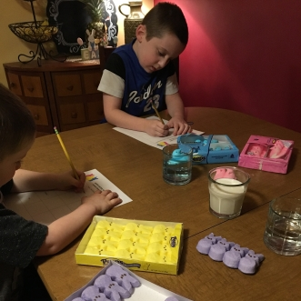 Peeps, science, Easter, STEM, homeschool