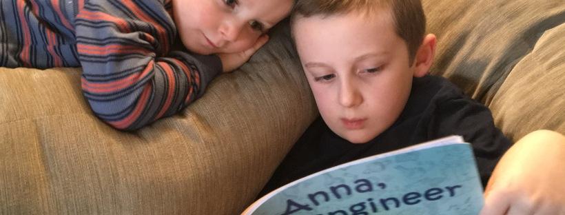 Anna, Kid Engineer, STEM, children's book, read