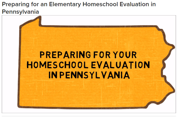 Video: Preparing for your Homeschool Evaluations in PA